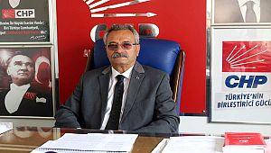 CHP İL BAŞKANI TOPRAK ''BARIŞ VE HUZUR İSTİYORUZ''