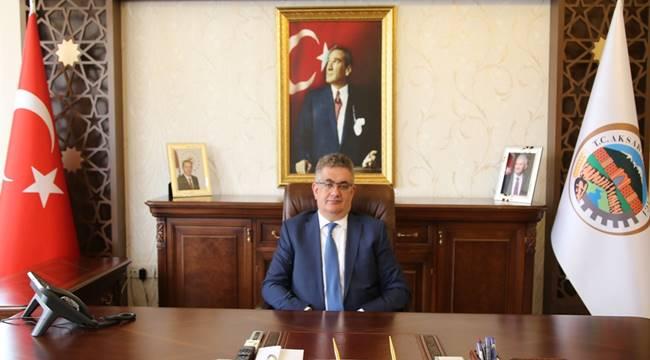 "VALİ AYKUT PEKMEZ'İN ""BASIN BAYRAMI"" MESAJI"