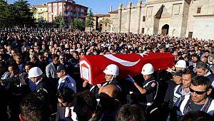 ŞEHİT POLİS MEMURUMUZ SEFA ALTINSOY AKSARAY'DA SON YOLCULUĞUNA UĞURLANDI