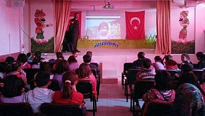 ESKİL'DE KÖY OKULLARINDA TRAFİK SEMİNERİ VERİLDİ