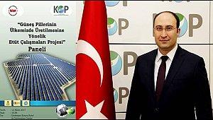KOP İDARESİ'NDEN GÜNEŞ ENERJİSİ PANELİ