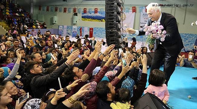 ÜNLÜ İLAHİYATÇI PROF. DR. NİHAT HATİPOĞLU AKSARAY'DA KONFERANS VERDİ