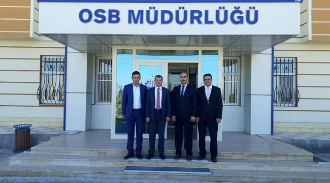 İL BAŞKANI ALTINSOY'DAN OSB'YE ZİYARET