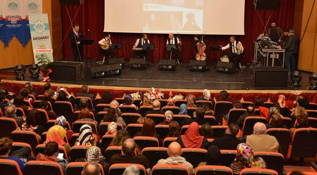 AKSARAY'DA MEHMET AKİF ERSOY'U ANMA PROGRAMI DÜZENLENDİ