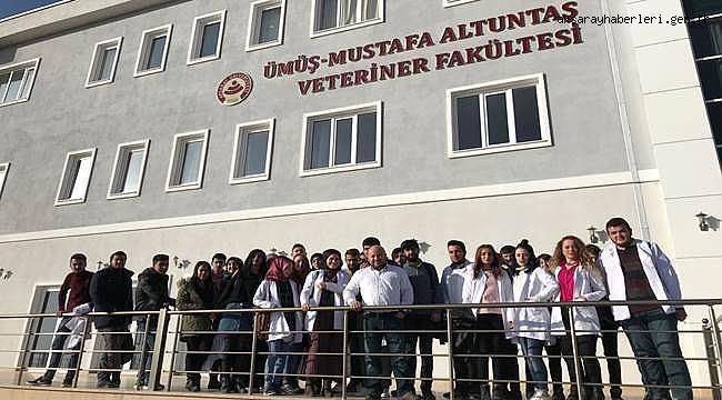ESKİL MYO ÖĞRENCİLERİ ASÜ'DE LABORATUVARLARI İNCELEDİ
