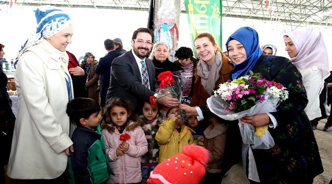 AKSARAY'DA MİNİKLERDEN ANLAMLI 'KADINLAR GÜNÜ' KUTLAMASI