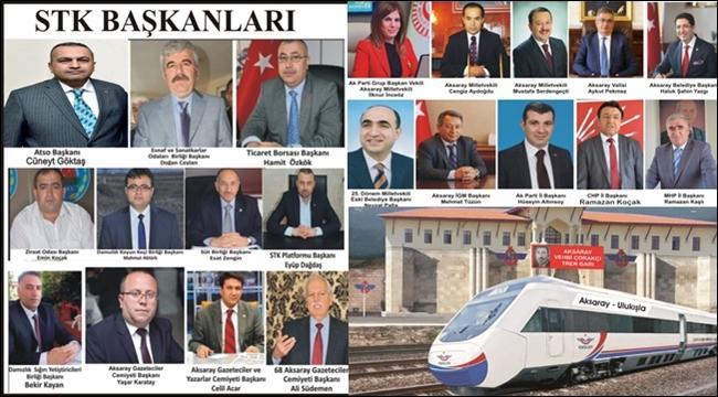 AKSARAY'IN İSTİKBALİ 'MESLEK ODALARI VE STK'LARIMIZIN SİYASETÇİLERLE AZİMLİ FUL ÇALIŞMASINDA'!