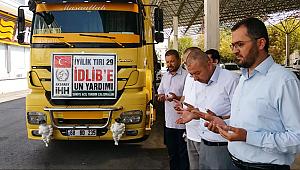 AKSARAY İHH BAŞKANI ÖZKAN '3 MİLYONU AŞKIN İDLİB'Lİ YARDIM BEKLİYOR'