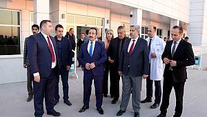 """Aksaray Valisi Ali Mantı """"Yeni hastanemiz ciddi bir değer, hep beraber hizmet üreteceğiz"""""""