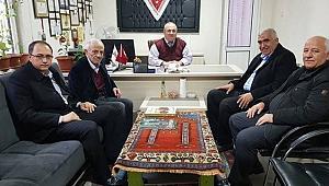 Milletvekili Ramazan Kaşlı ve Beraberindeki Heyet Cemiyetimizi Ziyaret etti