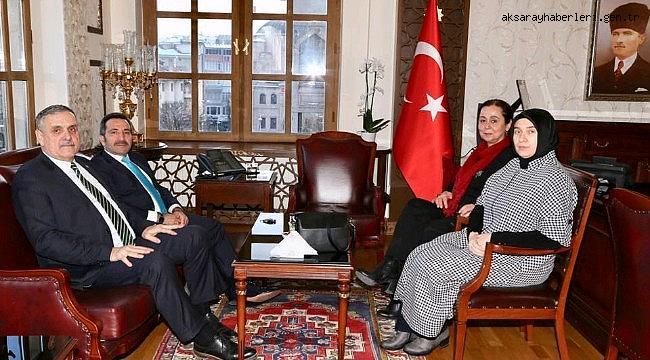 Balıkesir Milletvekili Cemal Öztaylan Aksaray Valisi Ali Mantı'yı ziyaret etti