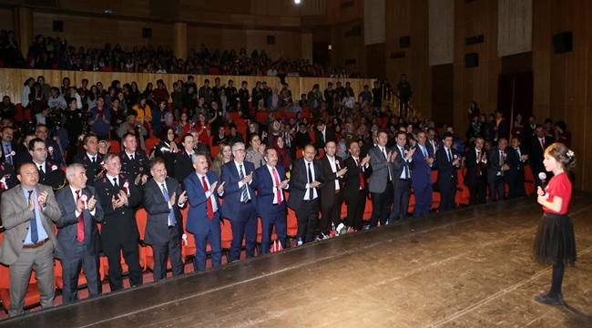 AKSARAY'DA İSTİKLAL MARŞI'NIN KABULÜ VE MEHMET AKİF ERSOY'U ANMA PROGRAMI 2019