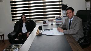ESKİL KAYMAKAMI KARAALİOĞLU'NDAN AGYC'YE ZİYARET