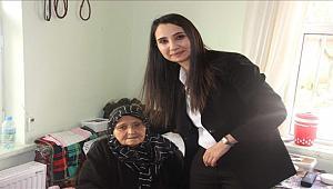 Eskil´in ilk kadın kaymakamı vatandaşın gönlünde taht kurdu