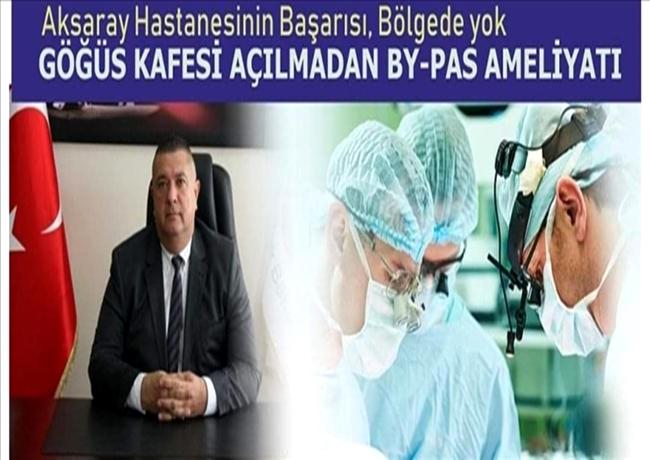 AKSARAY BY-PASS AMELİYATINDA BÖLGE LİDERİ OLUYOR