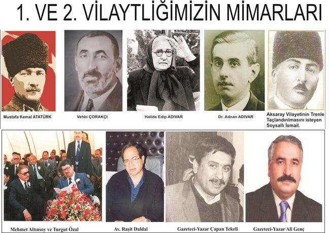 AKSARAY VİLAYETİ RESMEN 30 YAŞINDA!!!!