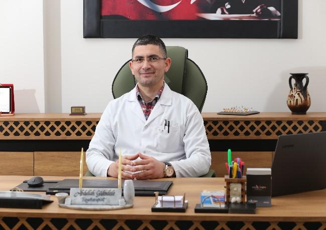 Fizyoterapist Abdullah Güdendede Aksaray da Yaz Aylarında Bel Ağrıları Konusunda Uyardı