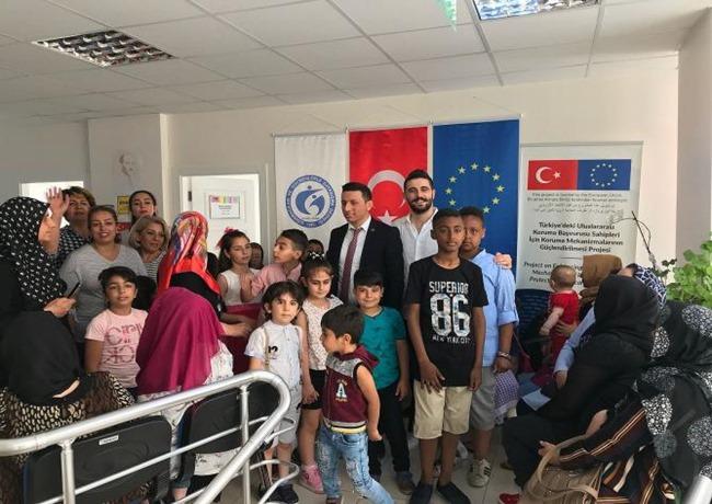 Göç İdaresi Müdürlüğü ''Aksaray'daki yaşayan 18 bin Göçmenlerin tek adresi oldu''