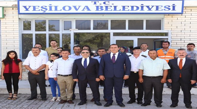 VALİ ALİ MANTI BELDELERİ ZİYARET EDİYOR