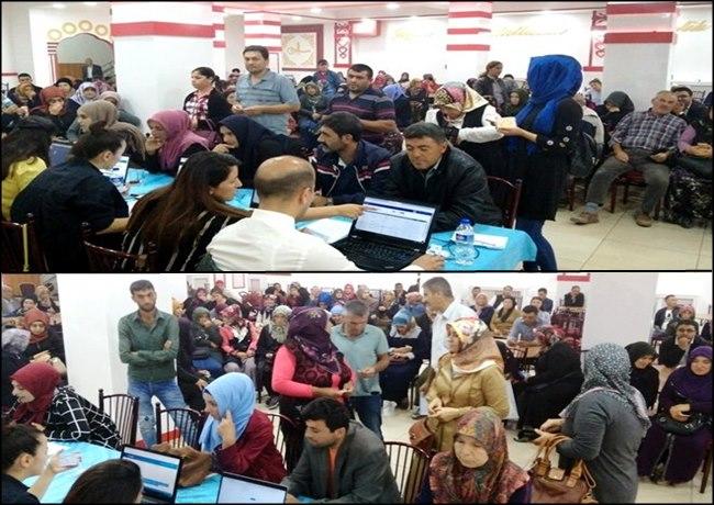 AKSARAY'DA 537 KİŞİ ALINACAK GEÇİCİ İŞE 1 GÜNDE 1100 KİŞİ BAŞVURDU