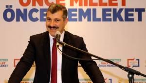 İL BAŞKANI ALTINSOY 'AK PARTİ BİR DAVA, BİR ERDEMLİLER HAREKETİDİR'