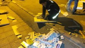 KSARAY'DA KAÇAK SİGARAYA GEÇİT! YOK 17 BİN PAKET KAÇAK SİĞARA YAKALANDI
