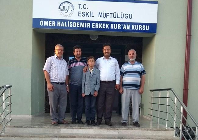AHMET VEFA'NIN HEDEFİ TÜRKİYE ŞAMPİYONLUĞU