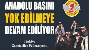 ANADOLU BASININA DESTEK TEKLİFİNE TBMM'DEN RED!