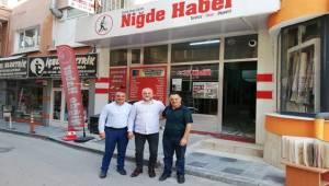 NİĞDE GAZETESİ 20 YAŞINDA, AKSARAY'A SELAMLARI VAR