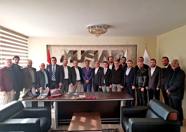 BANGLADEŞ HALK CUMHURİYETİ İSTANBUL BAŞKONSOLOSU AKSARAY'A GELDİ
