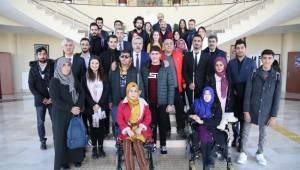 ASÜ REKTÖRÜ ŞAHİN 'HEDEFİMİZ, ENGELSİZ BİR KAMPÜS OLUŞTURMAK'