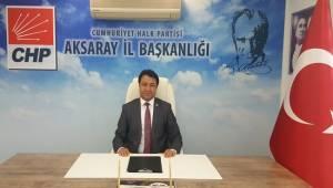 CHP'DE AKSARAY İLÇE KONGRELERİ BU HAFTA SONU BAŞLIYOR