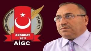 AİGC BAŞKANI MUSTAFA AVCI 10 OCAK ÇALIŞAN GAZETECİLER GÜNÜNÜ KUTLADI
