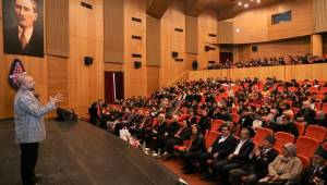 AKSARAY'DA SARIKAMIŞ HAREKÂTININ 105. YILDÖNÜMÜ NEDENİYLE KONFERANS DÜZENLENDİ