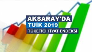 AKSARAY'DA 2019 DA TÜFE YILLIK %12,75 OLDU