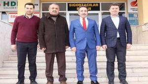 AKSARAY VALİSİ ALİ MANTI'DAN MESLEK ODASINA ZİYARET