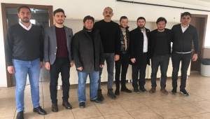 HÜDA PAR'DAN AKSARAYSPOR'A DESTEK ZİYARETİ
