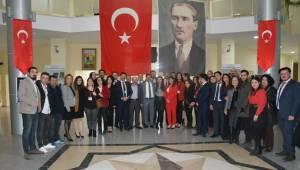 CHP AKSARAY İL BAŞKANLIĞINDA 'TEŞEKKÜR VE DEVİR TESLİM'