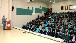 ASÜ REKTÖRÜ ŞAHİN, NÖHÜ'DE 28 ŞUBAT DARBESİNİ ANLATTI