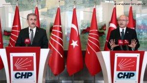 Kılıçdaroğlu, BBP Genel Başkanı Mustafa Destici'yi kabul etti