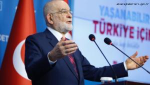 """Karamollaoğlu: """"Darbe sadece postallarla değil; vergilerle, zamlarla da yapılır"""""""