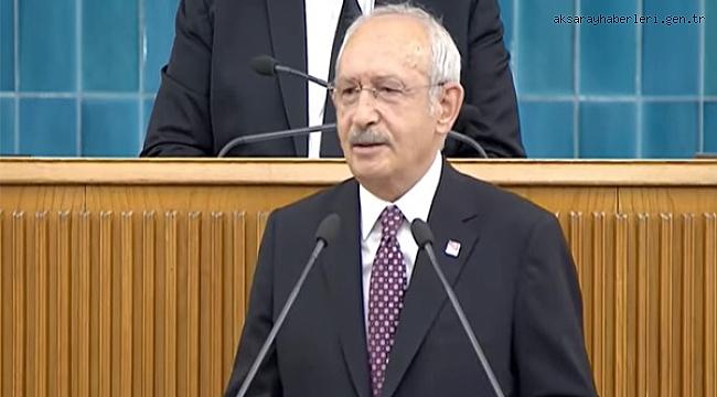 """Kılıçdaroğlu, """"Halkımızın tek gerçek gündemi sofrasıdır"""""""