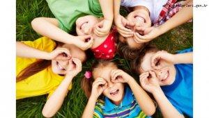 23 Nisan Dijital Çocuk Koşusu'na 7 ülkeden 624 çocuk katıldı