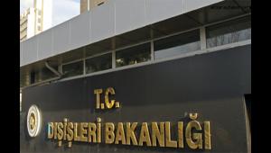 """Dışişleri Bakanlığı: """"Türkiye Filistin halkının haklı davasına destek vermeye devam edecektir"""""""