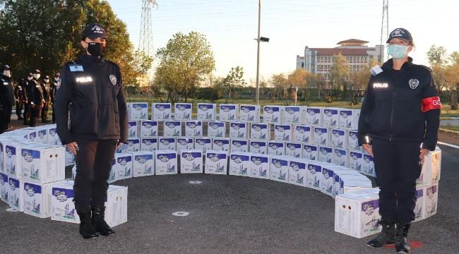 Polis adaylarından anlamlı yardım, Okul harçlıklarını ihtiyaç sahipleri için birleştirdiler