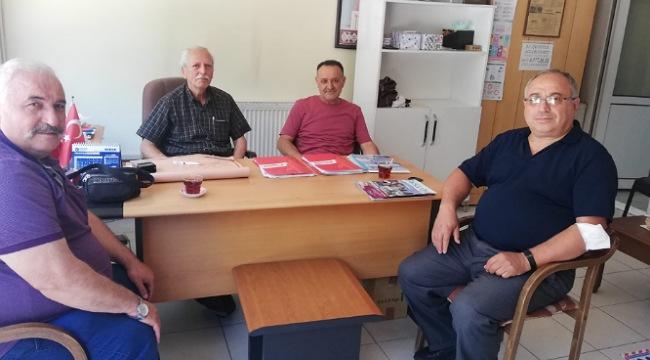 68 Aksaray Gazeteciler Cemiyeti yönetimi görev bölümü yaptı