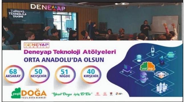 Aksaray Dahil 27 şehre 36 yeni Deneyap Teknoloji Atölyesi kuruluyor