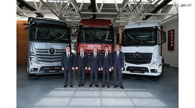 Mercedes-Benz Türk, kamyon ürün grubunda 2021'in ilk 6 ayını başarılarla tamamladı