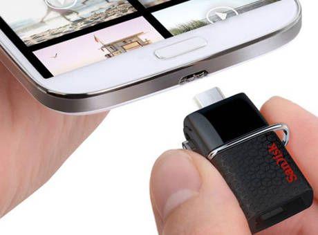 Android cihazlar için flash disk