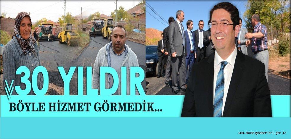 AKSARAY BELEDİYESİ'NDEN ASFALT YAPIMINDA REKOR...